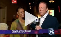 News Channel 8 covers Power of the Purse